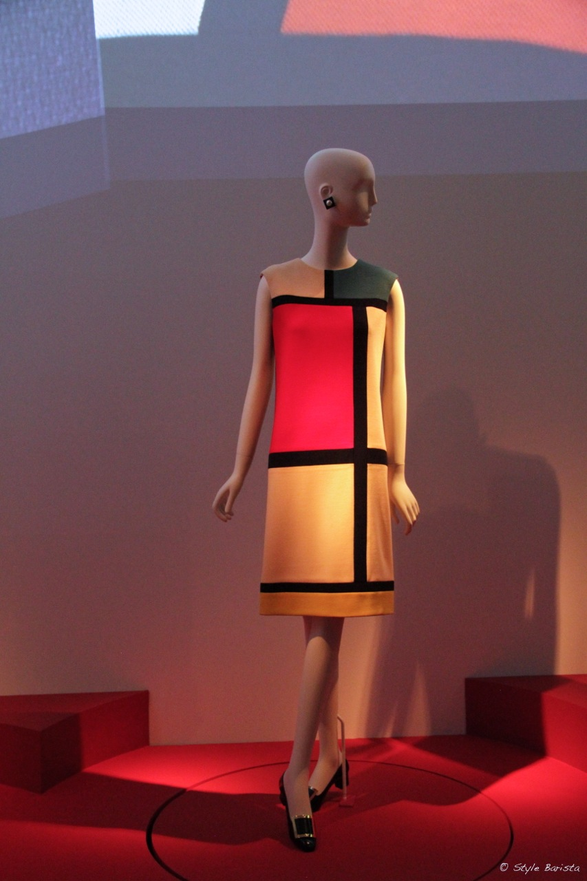 Yves Saint Laurent Mondrian dress (YSL)