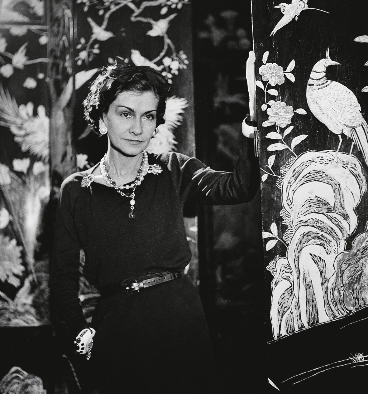 Coco Chanel, French couturier. Paris, 1937. LIP-69