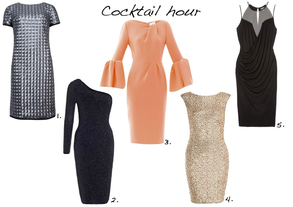 a5bf0129a19 Cocktail hour. party dresses Ted Baker Lipsy DKNY New Look Roksanda Ilincic