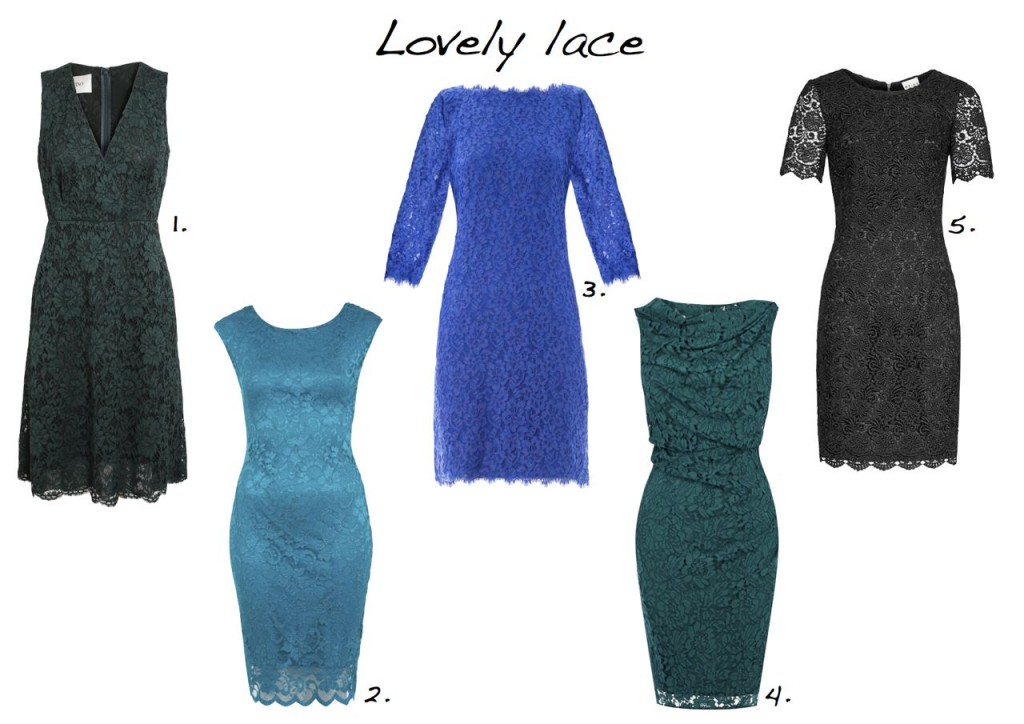 lace dresses Valentino Miss Selfridge Diane Von Furstenberg Coast Reiss