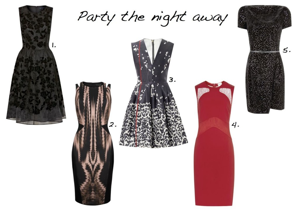 Party dresses sale Amanda Wakeley French Connection Reiss Preen Mango.