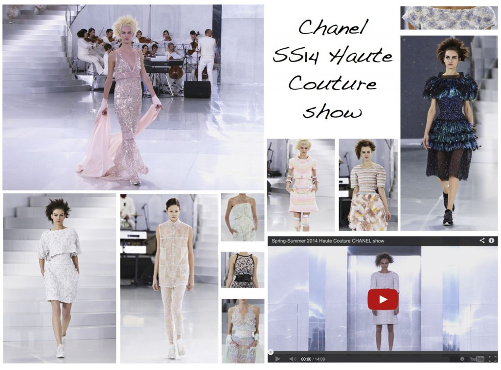 Chanel SS14 Haute Couture Show