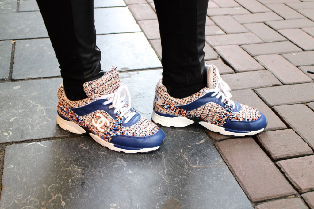 Chanel Chanel trainers Chanel sneakers street style Amsterdam Style Barista