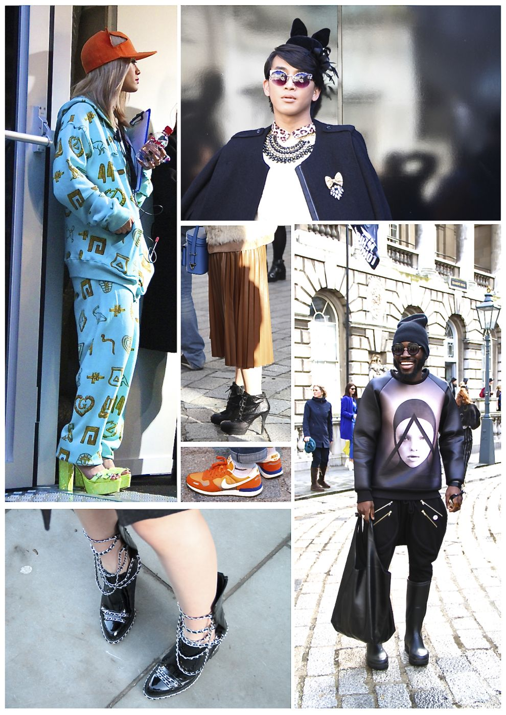 The Best Of London Fashion Week Street Style Style Barista