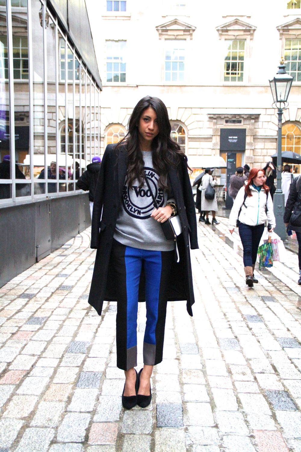 Get the london street style look style barista Girl fashion style london