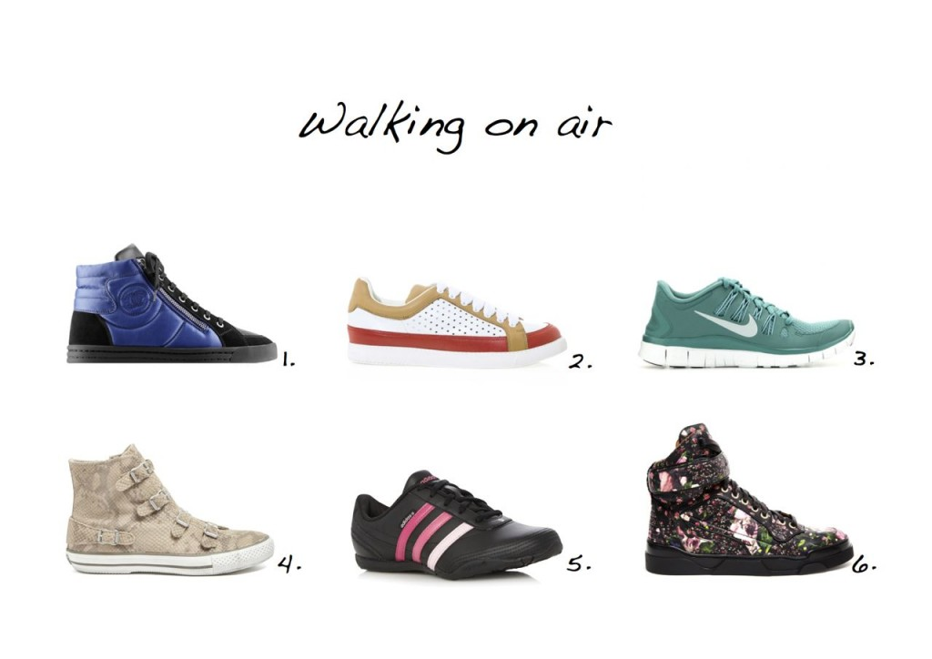 Trainers edit Sneakers edit Chanel Nike Ash Adidas Givenchy See by Chloe sneakers Style Barista