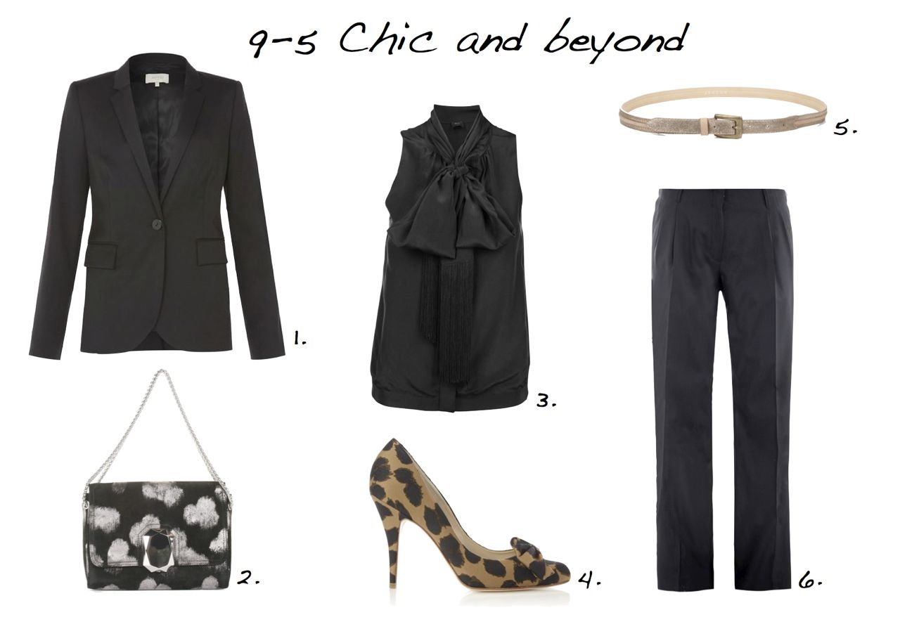 9-5 chic and beyond