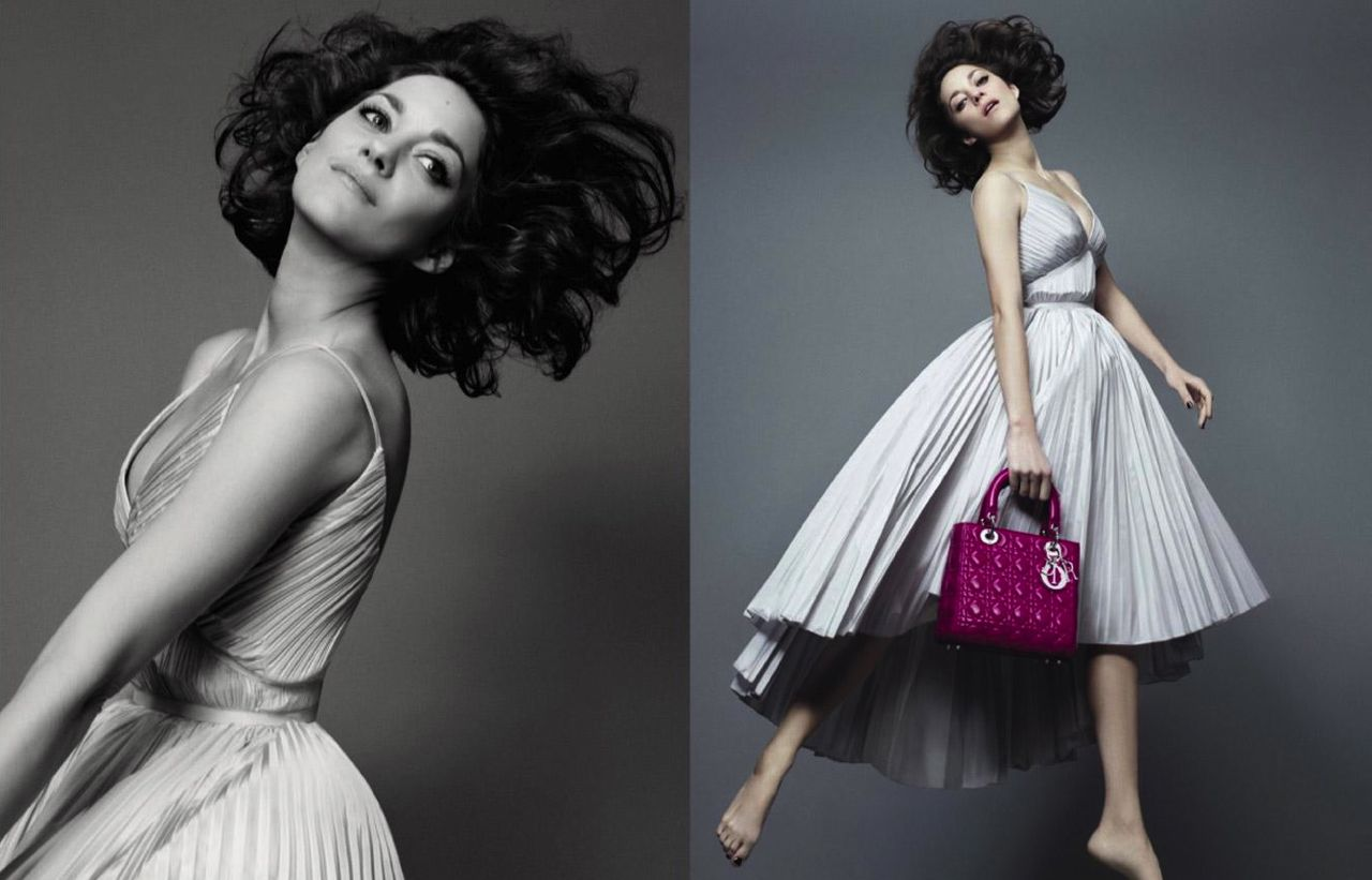 Marion Cotillard is back in the new Lady Dior campaign Style Barista 799e351af535c