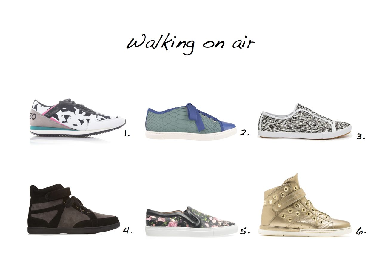 Sneakers edit Trainers edit Lanvin sneakers Kenzo sneaker Forever 21 sneakers Givenchy sneakers Stuart Weitzman sneakers French Connection sneakers