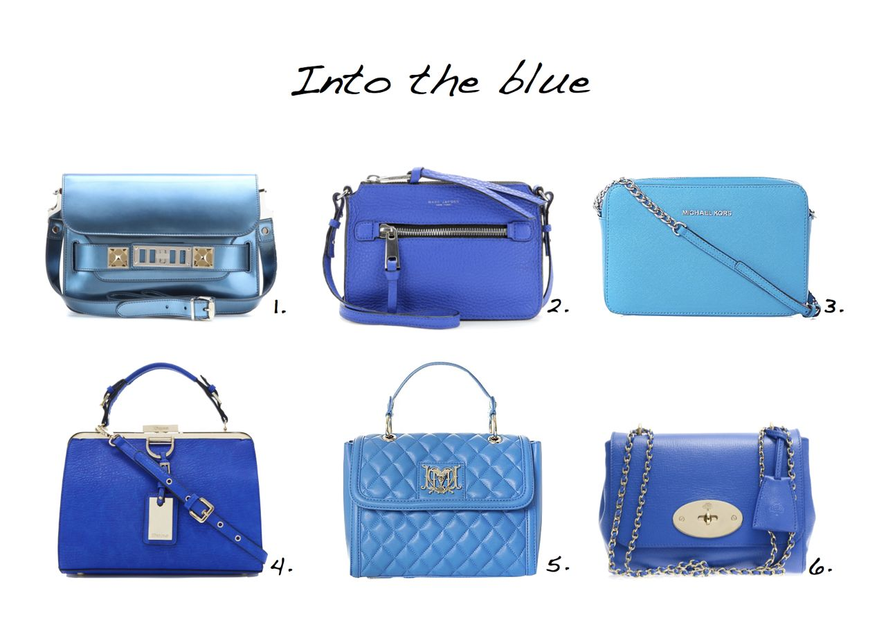 Style Barista Blue Bags Mulberry Lilly Bag Marc Jacobs Le Dune Love Moschino