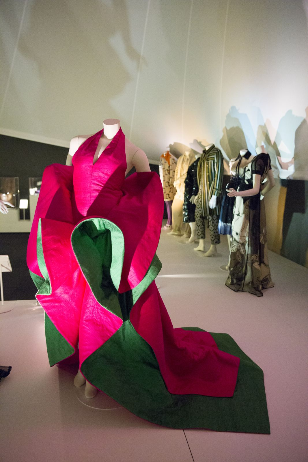 Installation image of The Glamour of Italian Fashion 1945 - 2014