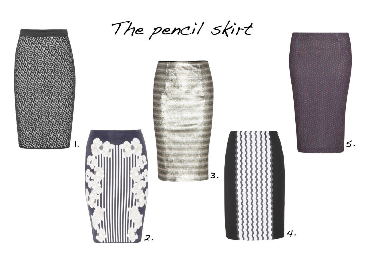 3b1918017e Pencil skirts Reiss Merida Lace Pencil Skirt Diane von Furstenberg Kacee  Intarsia Stretch-Knit Pencil