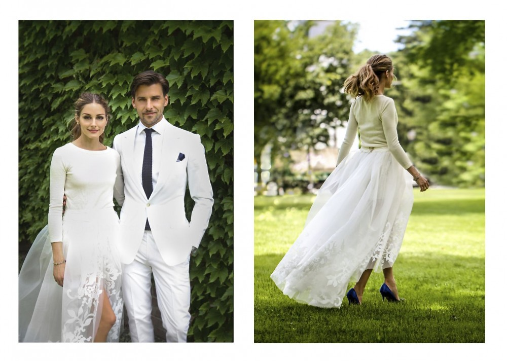 Olivia Palermo Marries Johannes Huebl 2014