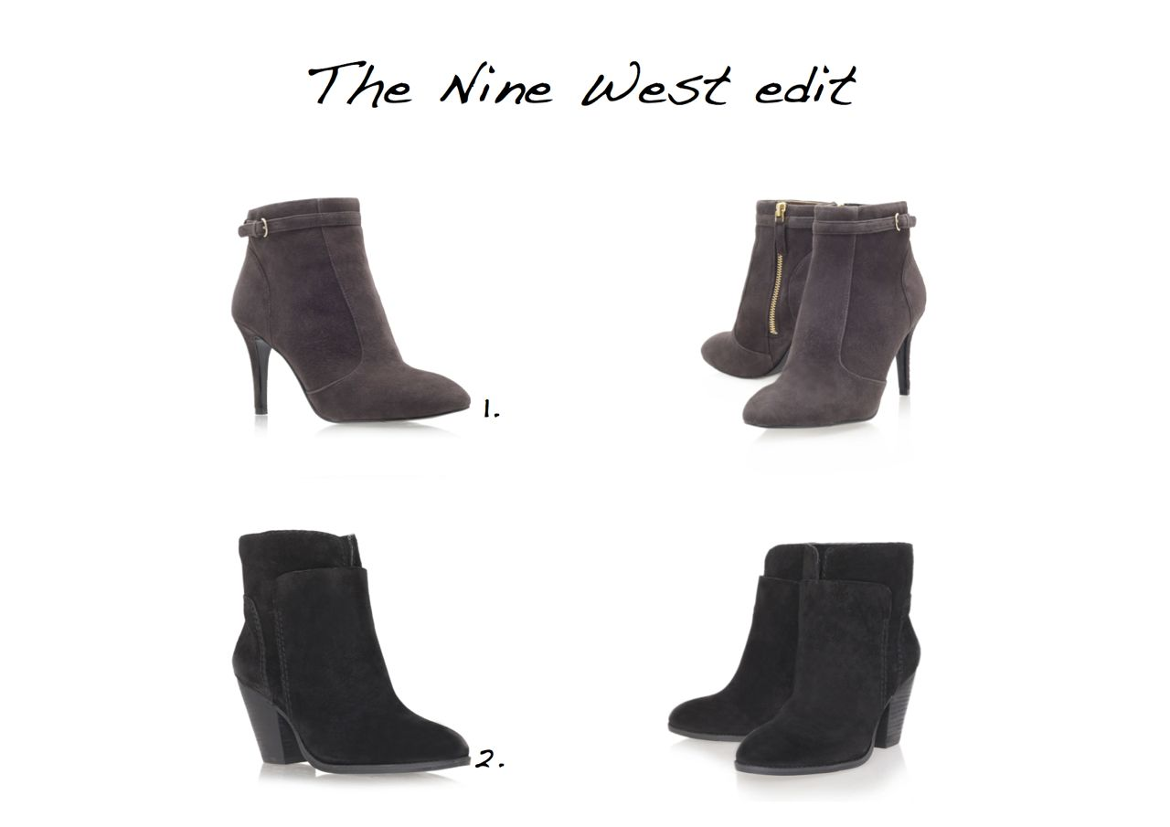 Steal Of The Day - Nine West ankle boots - Style Barista