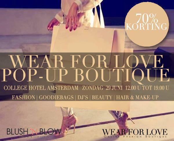 Wear for love pop-up boutique