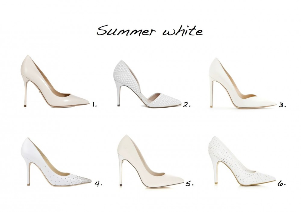 White pumps white shoes Gianvito Rossi Patent Leather Pumps New Look White Laser Cut Pointed Court Shoes Miss Selfridge Glam White Heel  Sergio Rossi Leather Pointed Toe Pumps Ellis 2 Embellished Heels Jimmy Choo Anouk Stud Pointed Court Shoes