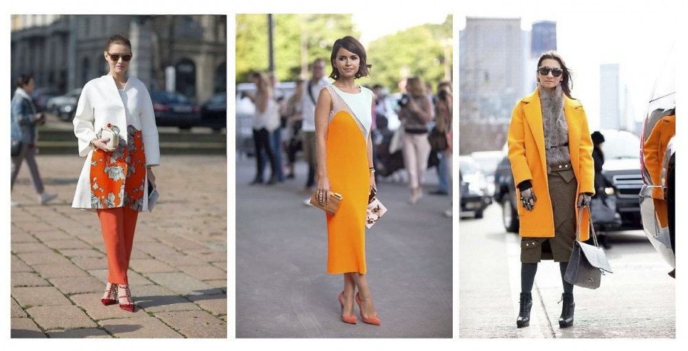Style Barista Orange is the new black street style orange outfit