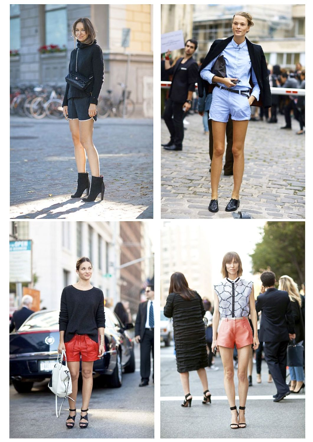 Style Barista shorts street style summer outfits