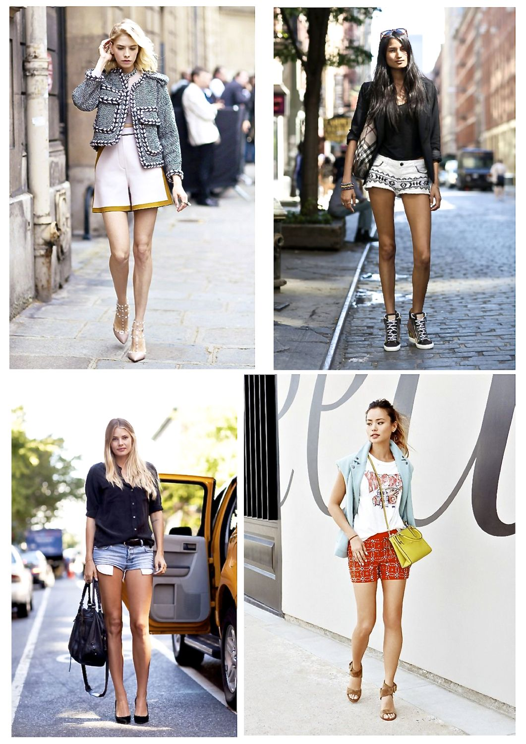 Style Barista street style shorts summer outfits