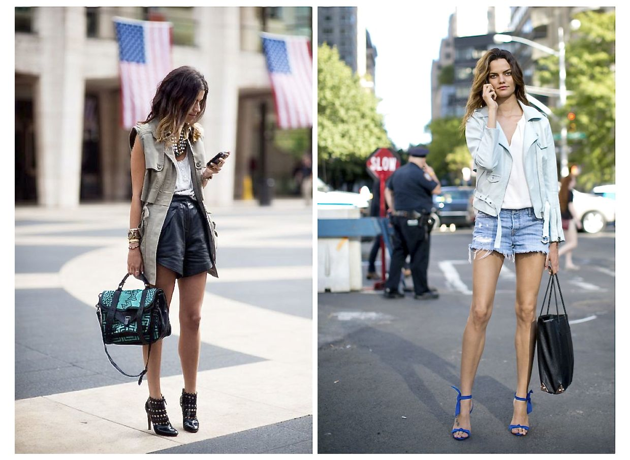 Style Barista summer outfits street style shorts