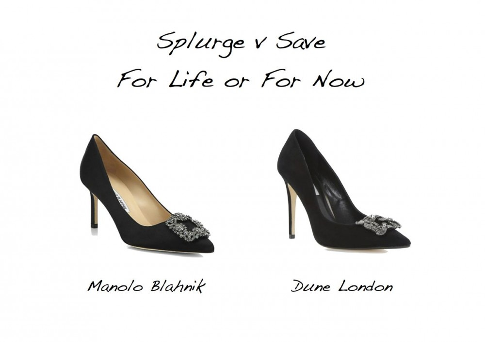 Style Barista Manolo Blahnik Carry Bradshaw wedding shoes look for less Dune Breanna Manolo Blahnik Hangisi 70