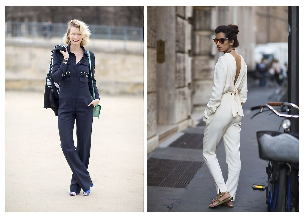 How To Rock The Jumpsuit 8 Street Style Looks For Inspiration Style Barista