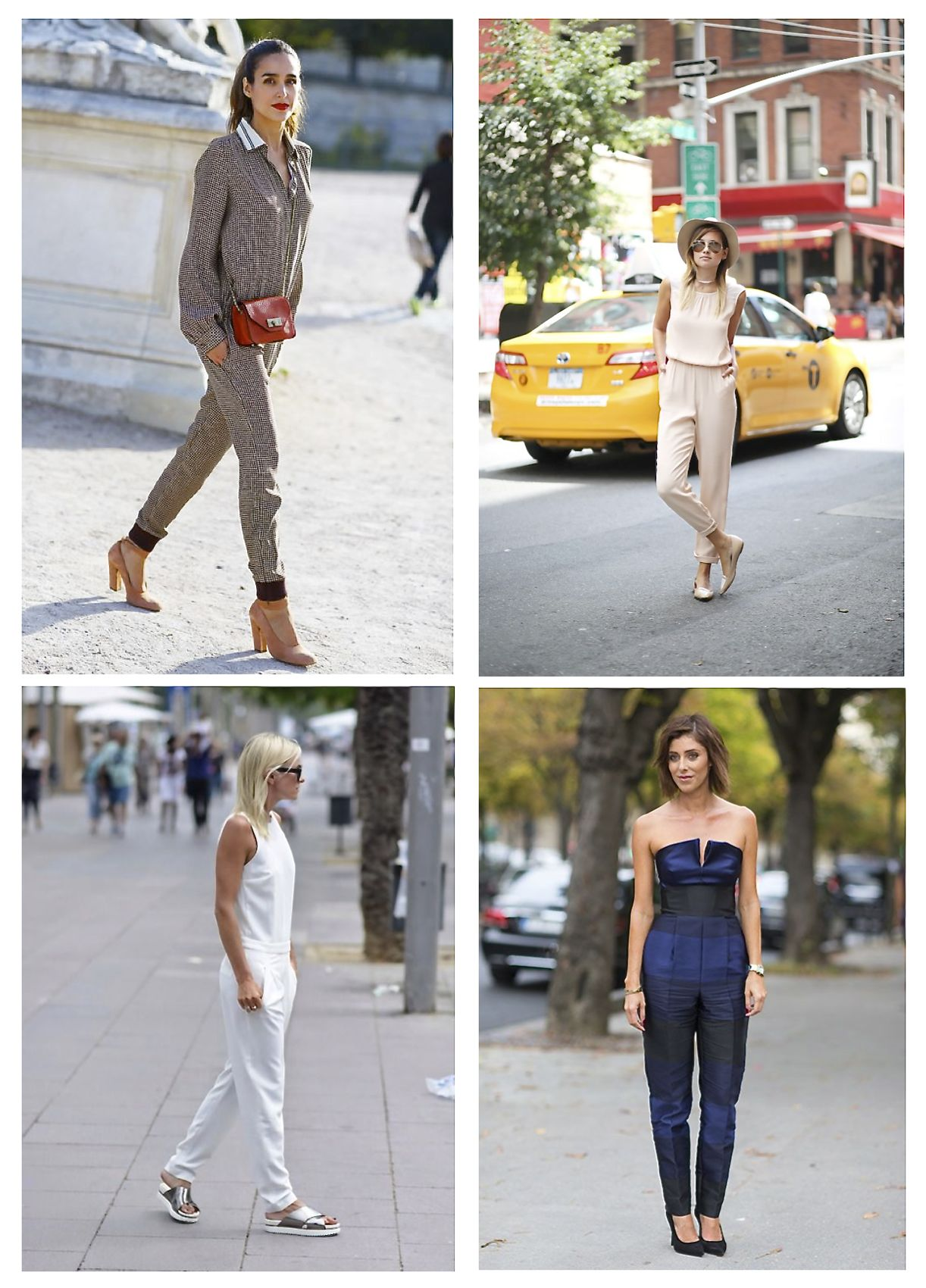 Style Barista street style jumpsuits strapless