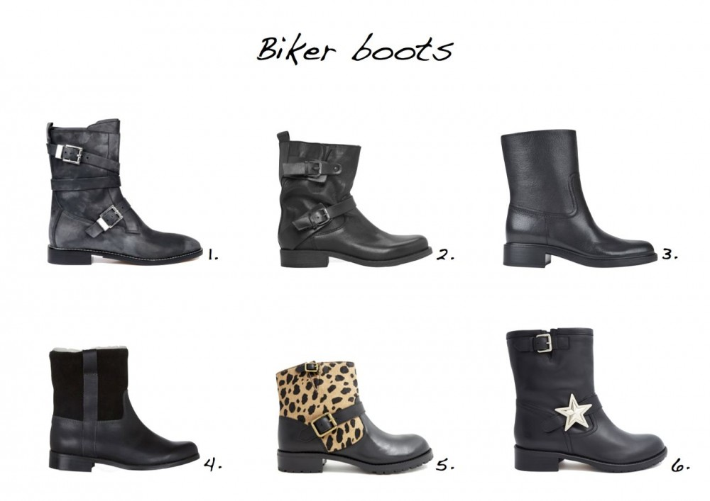 Biker boots Red Valentino Star Boot Marc By Marc Jacobs Leopard Print Biker Boot Hobbs NW3 Duke Boot Gucci Leather Biker Boots Mango Leather Biker Ankle Boots Alexander Wang Louise Leather Ankle Boots