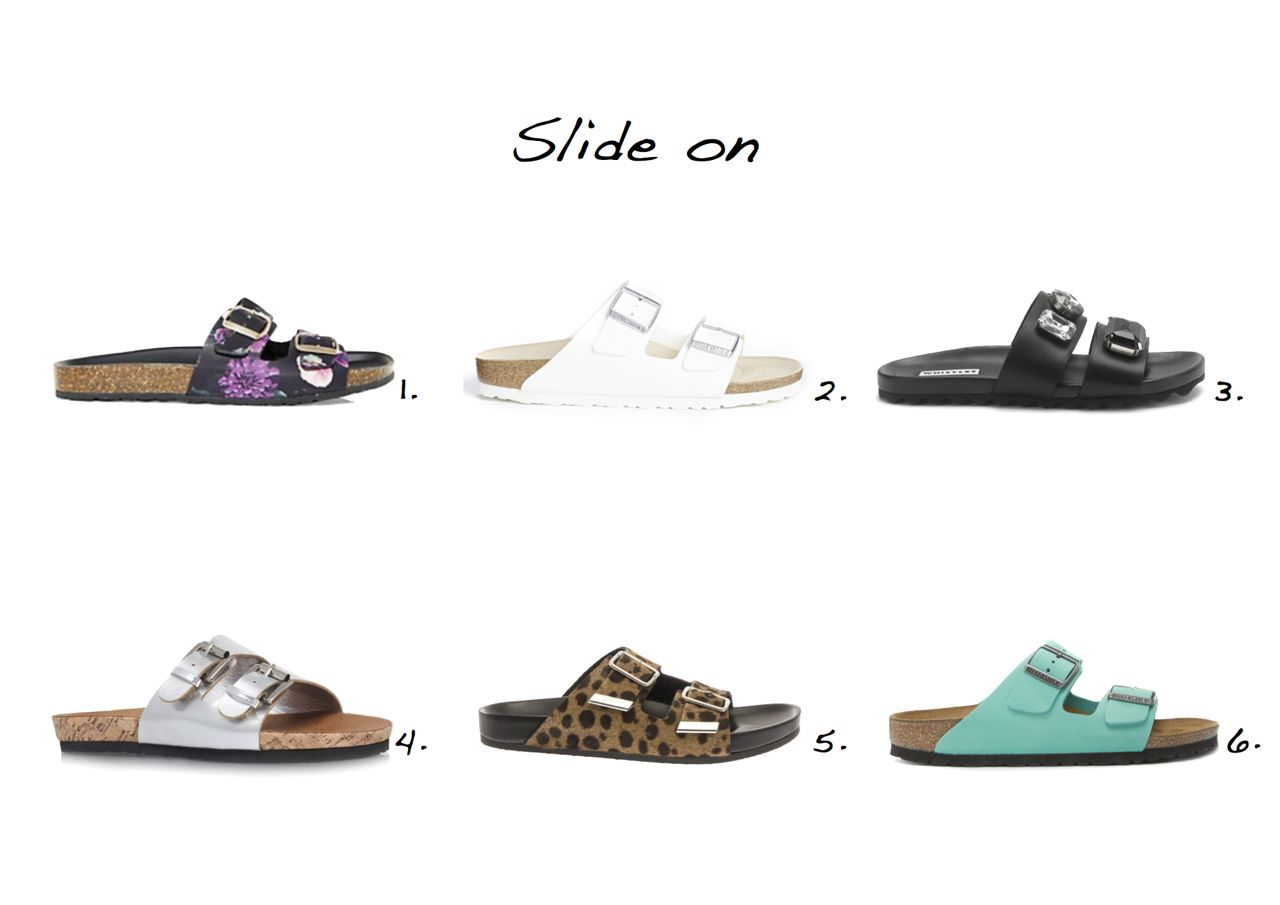 18f775a7b5 Sliders sandals Givenchy Leopard Calf-Hair Slides Carvela Khris Flat Sandals  Whistles Maddy Jewelled Band