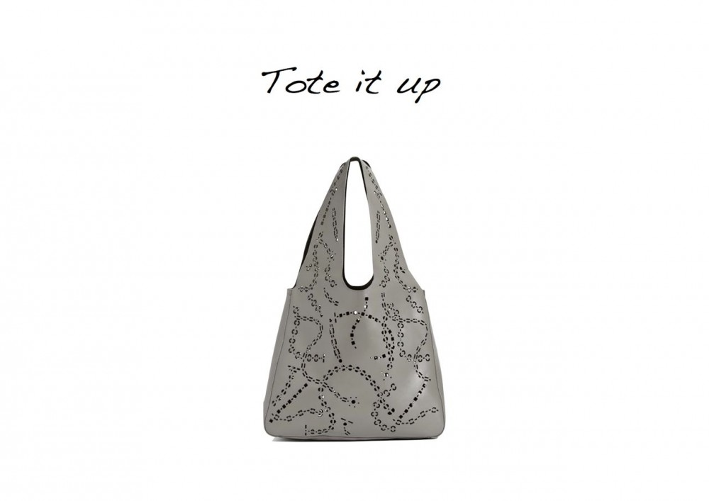 Steal Of The Day Reiss 1971 Tula Perforated Shoulder Bag