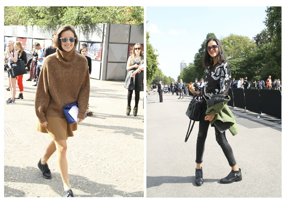 Style Barista London Fashion Week street style London street style after Burberry and Christopher Kane