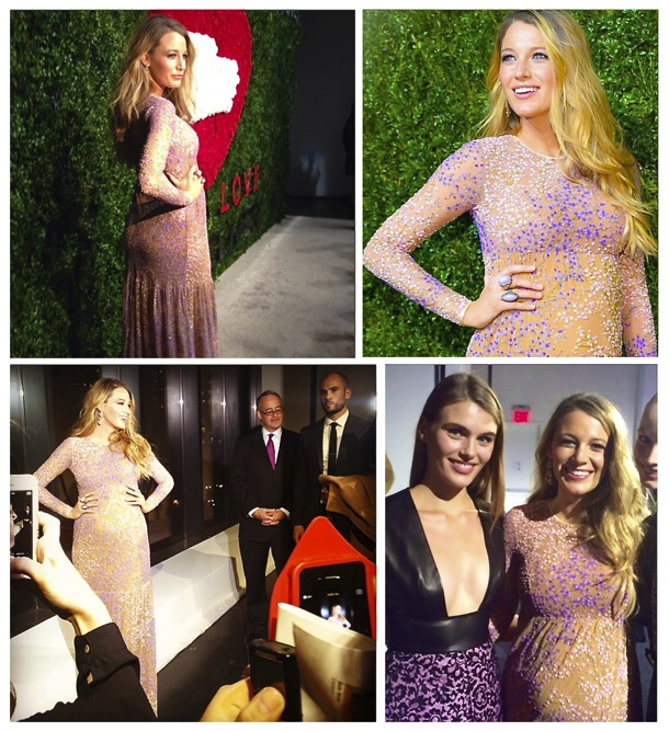Blake Lively red carpet pregnancy style
