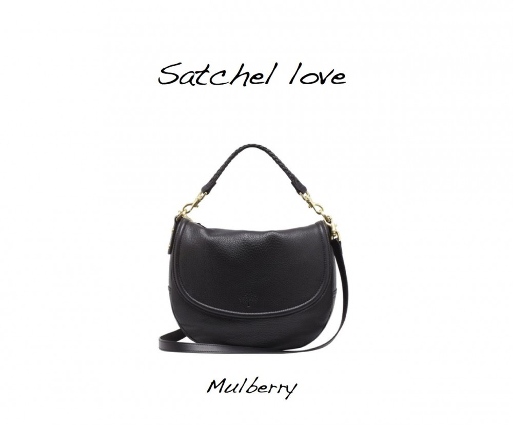 Mulberry Effie Spongy Pebbled Satchel