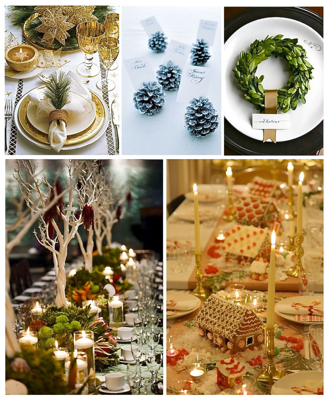14 christmas table setting ideas style barista - Christmas table setting ideas ...