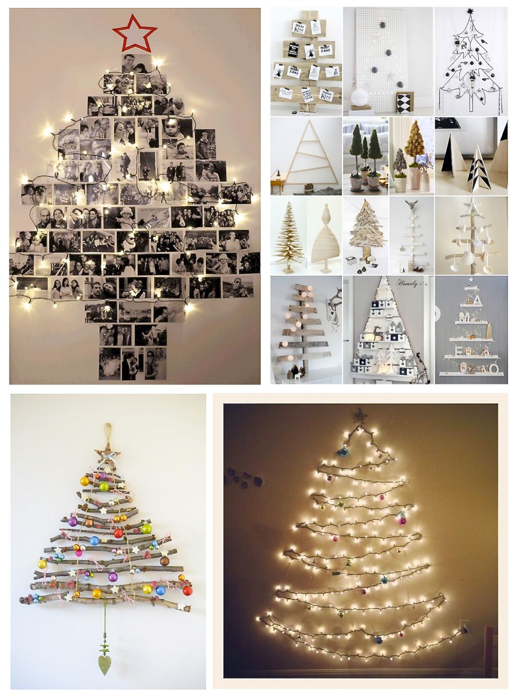 Christmas Tree Alternative.12 Alternative Christmas Tree Decorating Ideas Style Barista