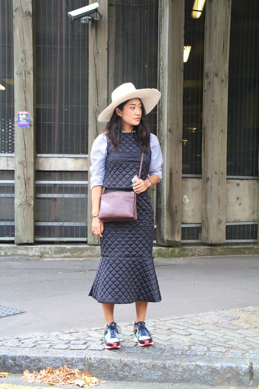 Get the london street style look style barista Celine fashion street style