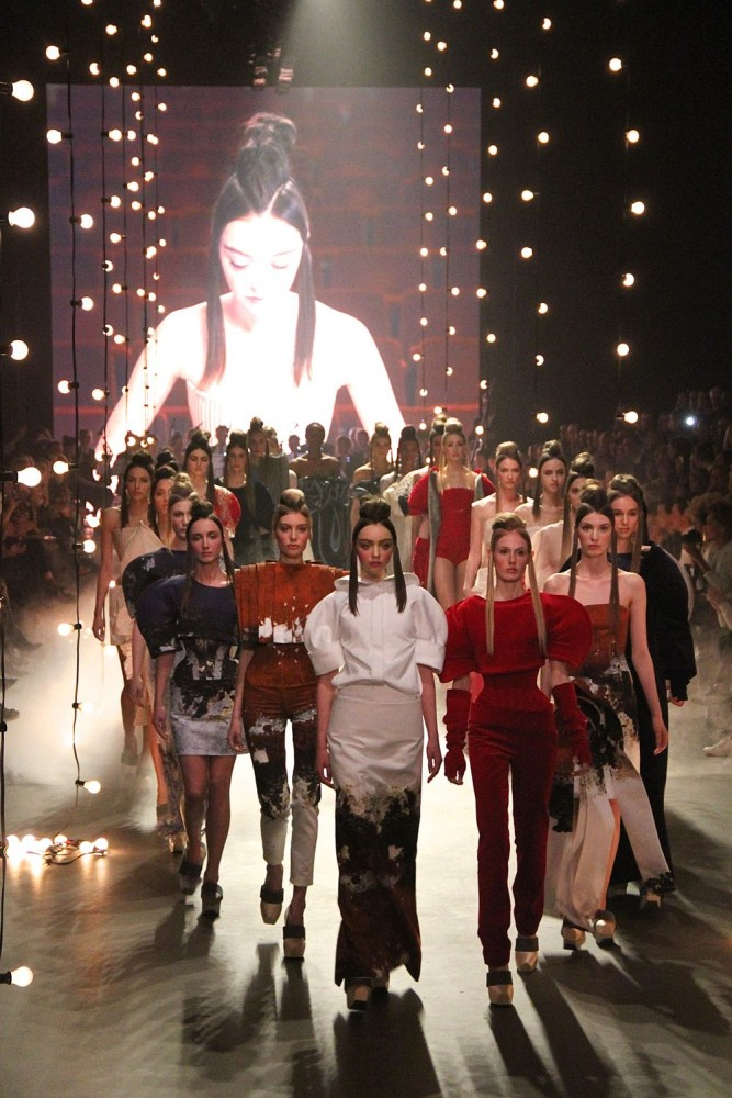 Dorhout Mees finale 26 January 2015 Amsterdam Fashion Week Style Barista