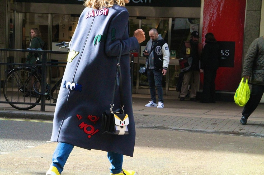 London Fashion Week Street Style Fendi bag Style Barista