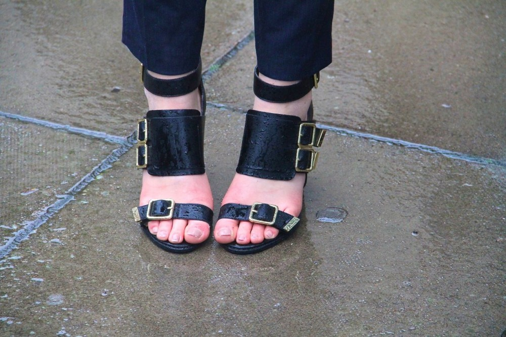 London Fashion Week Street Style sandals Style Barista