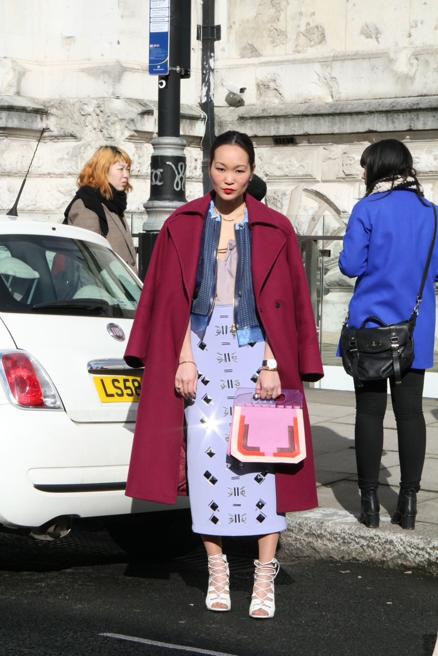Mariko Kuo London Fashion Week Style Barista