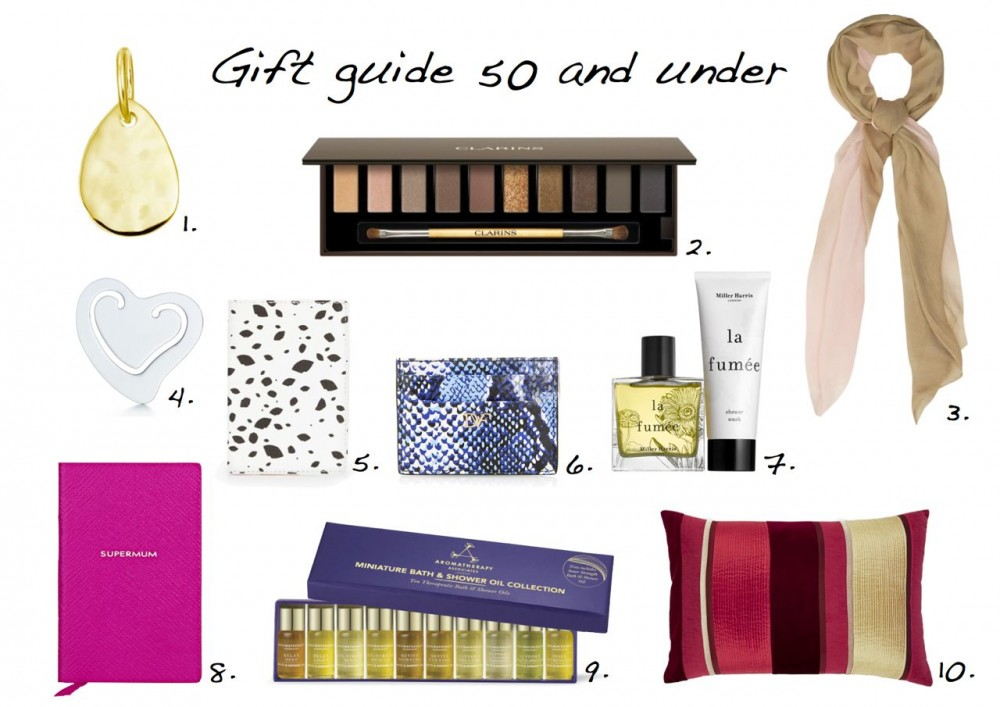 Mother's Day gift ideas 50 and under 2015