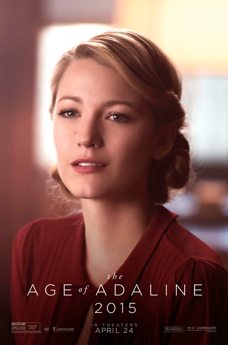 Blake Lively Looks Gorgeous In The Age Of Adaline - Style ... Blake Lively Movies