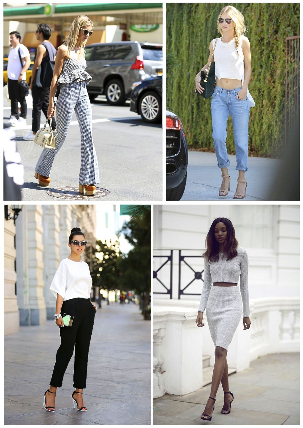a1bf3c13afe 12 Street Style Pics On How To Wear Crop Tops - Style Barista