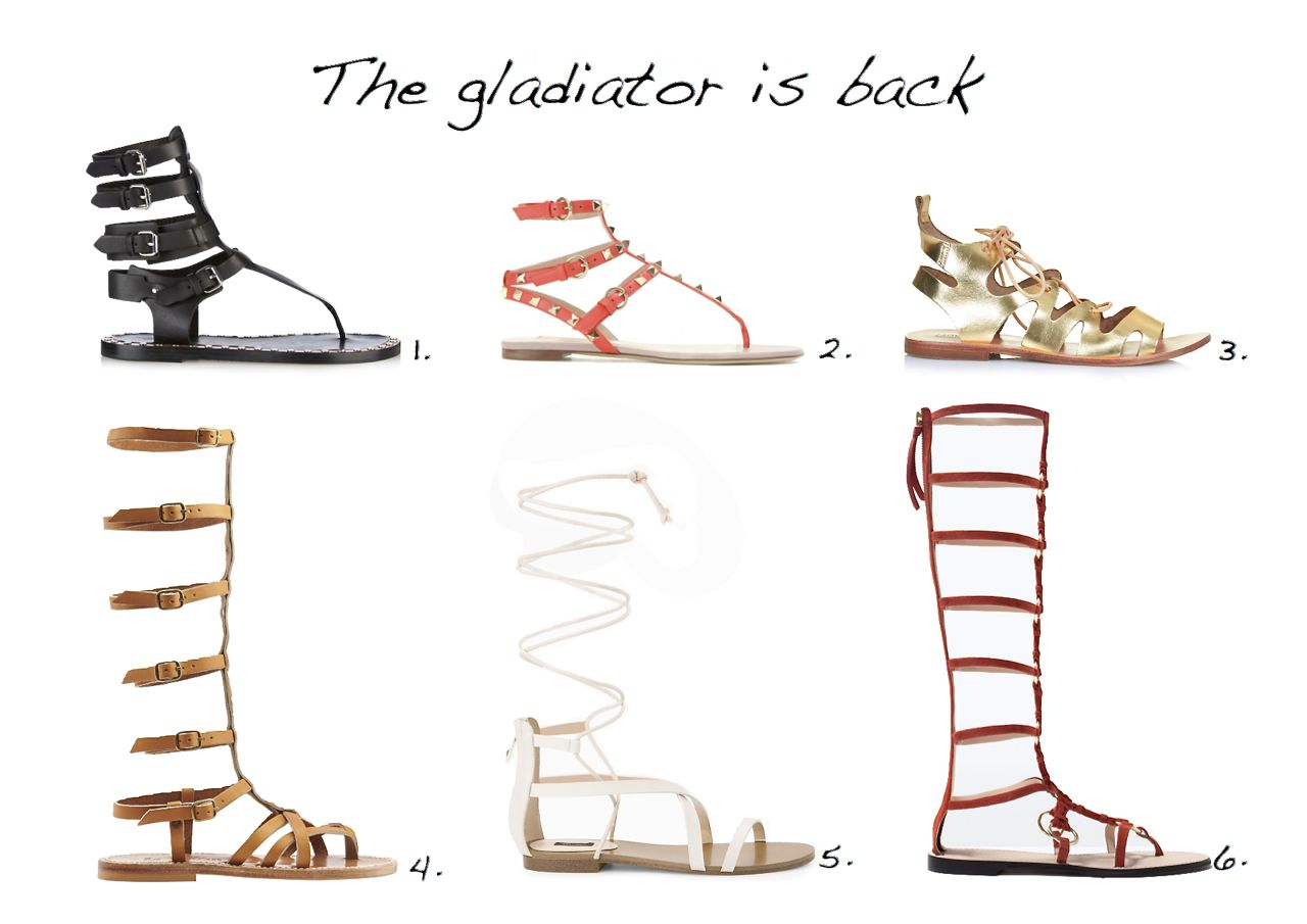 1f5ef75598 The Gladiator Sandal Is Back: 18 Gladiator Sandals - Style Barista