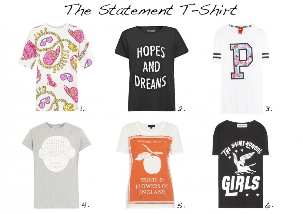 statement-t-shirts-slogan-t-shirts-moschino-printed-cotton-jersey-t-shirt-stella-mccartney-superstellaheroes-cotton-jersey-t-shirt-burberry-prorsum-book-cover-print-cotton-t-shirt