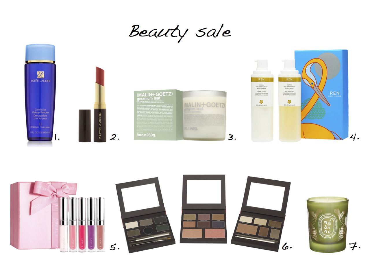 beauty sale Laura Mercier Into The Wild Look Book Collection By Terry Baume De Rose Set REN Neroli Set Estee Lauder Gentle Eye Makeup Remover