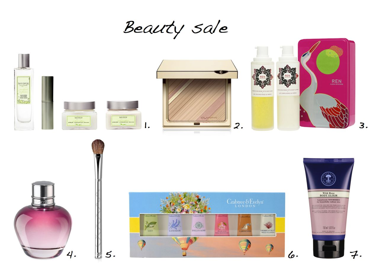 beauty sale Laura Mercier Verbena Infusion Signature Collection  Clarins Graphic Expression Face And Blush Powder L'Occitane Pivoine Flora Eau de Parfum By Terry Eye Brush Precision 2