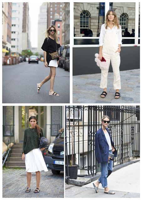a2936d553e9 For Inspiration  12 Street Style Pics On How To Wear Slides