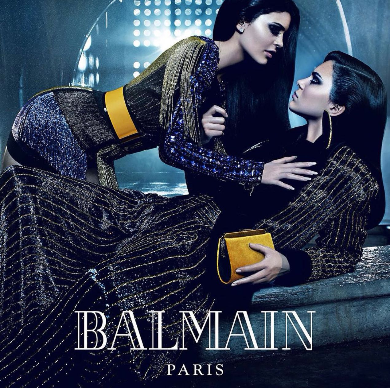 Kendall And Kylie Jenner Confessions: Kendall And Kylie Jenner Star In New Balmain Campaign