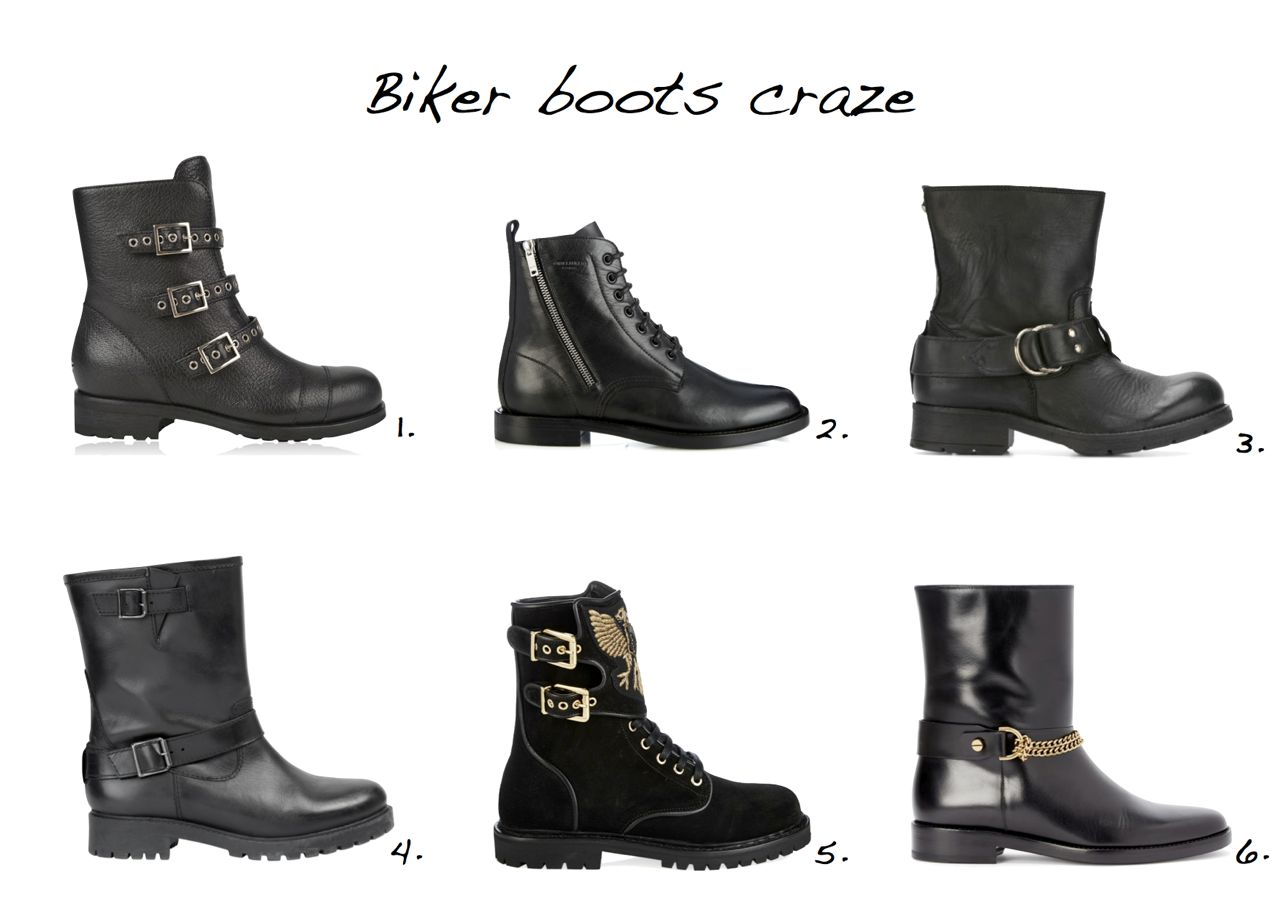 0f72c0e2 24 Wear With Everything Biker Boots - Style Barista